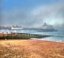 Eastbourne Pier: Caught In The Mist by JLaverty