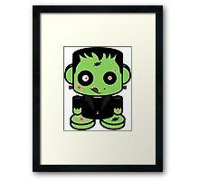 Zombie Franko'bot 1.0 Framed Print