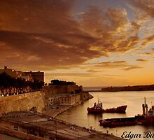 Gand Harbour Valletta by Edgar023