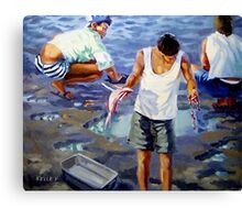 Catch of the Day, Ten Years Later Canvas Print