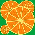 Oranges backround by Laschon Robert Paul