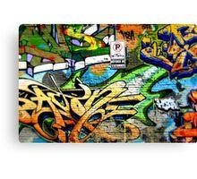 Graffiti Craze 3 Canvas Print