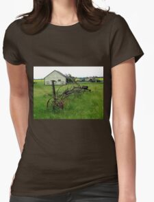 OLD FARM EQUIPMENT Womens Fitted T-Shirt