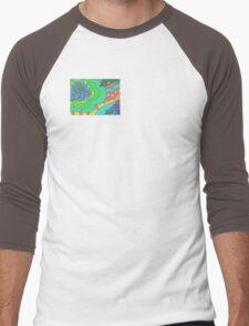 Peaceful Nature Men's Baseball ¾ T-Shirt