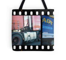 Truckin Tote Bag