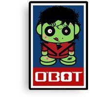 Thriller Zombio'bot 1.1 Canvas Print