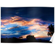 Colorful Evening Sky Poster