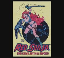 Red Sonja by pocketsoup