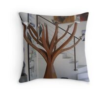 Arborescence Spirituelle Throw Pillow
