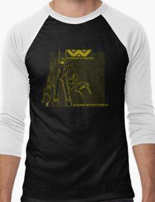 Powerloader Blueprint (yellow) Men's Baseball ¾ T-Shirt
