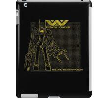 Powerloader Blueprint (yellow) iPad Case/Skin