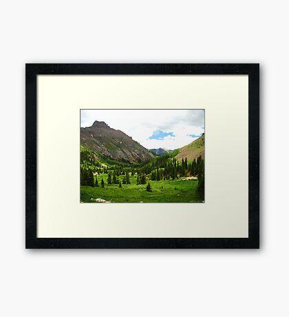 Yankee Boy Basin Framed Print