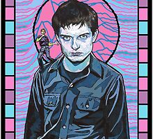 Ian Curtis Joy Division  by williamlye