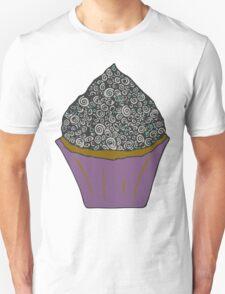 Aqua Cupcake Doodle T-Shirt