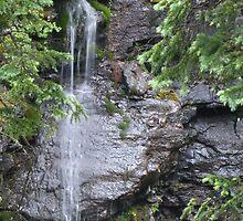 Little Waterfall by Bill Hendricks