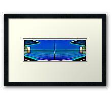 Sky-lines Framed Print