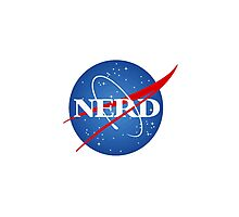 Space Nerd Photographic Print
