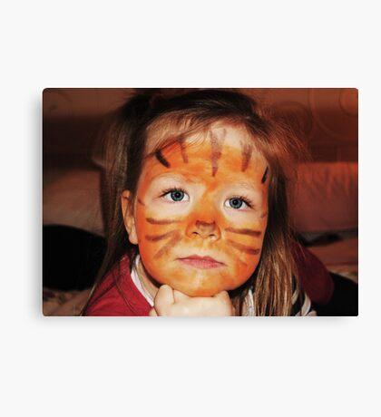 lil tiger Canvas Print