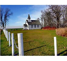 LITTLE CHURCH on the PRAIRIES Photographic Print