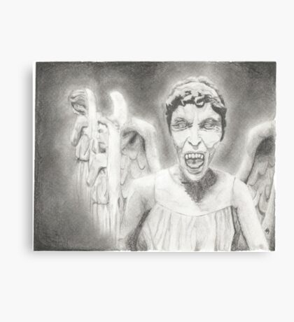 Don't Blink. Canvas Print