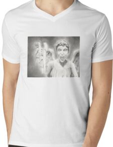 Don't Blink. Mens V-Neck T-Shirt