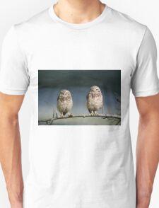 BURROWING OWLS Unisex T-Shirt
