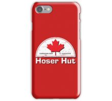 Hoser Hut Maple Leaf iPhone Case/Skin