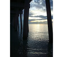 Where the sun meets the water- Panama City Beach, FL Photographic Print