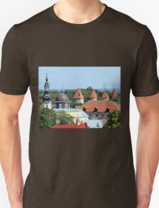 Rooftops Near the Baltic Unisex T-Shirt