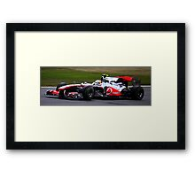 F1 Silverstone Framed Print