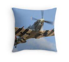 Flying Legend,Spitfire. Throw Pillow
