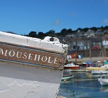 Mousehole, Cornwall.  by clara  caulfield