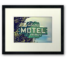 Alamo Hotel Framed Print