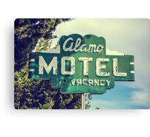 Alamo Hotel Canvas Print