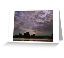 Storm Almost Over on the Ohio River Greeting Card