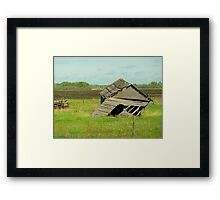 I'm leaning to the right, does that make me Conservative??? Framed Print