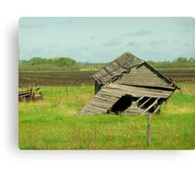 I'm leaning to the right, does that make me Conservative??? Canvas Print