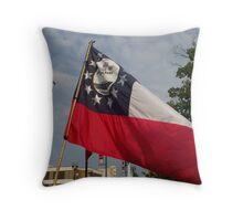 16th Battle Flag Throw Pillow