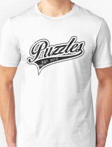 Puzzles HIMYM Black T-Shirt