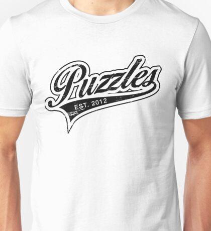 Puzzles HIMYM Black Unisex T-Shirt