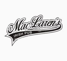 MacLaren's Pub_Black One Piece - Short Sleeve