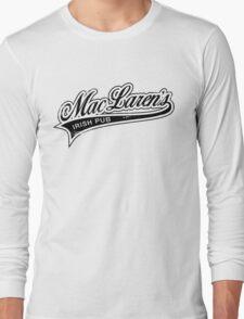 MacLaren's Pub_Black Long Sleeve T-Shirt