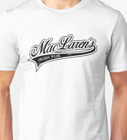 MacLaren's Pub_Black Unisex T-Shirt