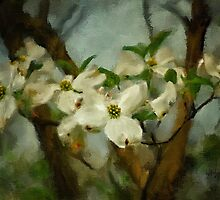 Cool Breeze Painterly by Lois  Bryan