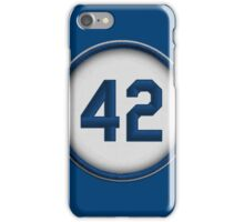 42 - Jackie (alt version) iPhone Case/Skin