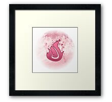 Guild Wars 2 Inspired Elementalist logo Framed Print
