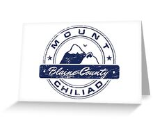 Mt Chiliad GTA_Blue Greeting Card