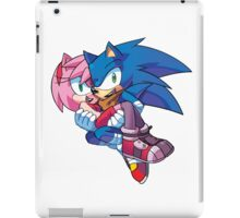 Sonic Boom - Sonic & Amy Rose iPad Case/Skin
