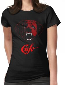 CUJO [dog] Womens Fitted T-Shirt