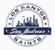 Los Santos City_Blue Kids Clothes